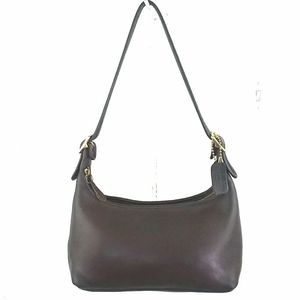 Coach Vintage Brown Leather Shoulder Bag Excellent